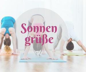 yoga workshop Sonnengrüße
